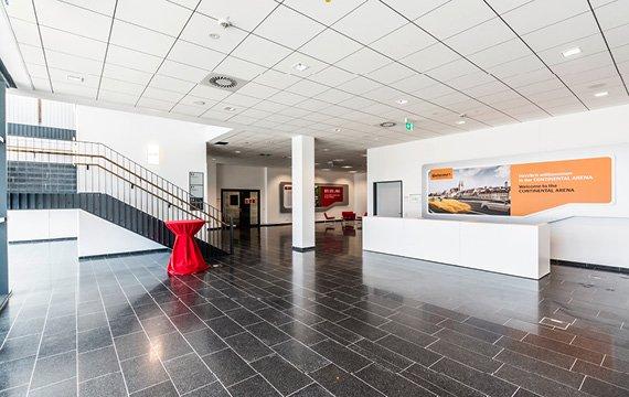 schmid bodenbel ge gmbh continental arena regensburg. Black Bedroom Furniture Sets. Home Design Ideas